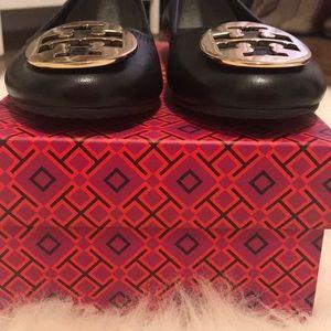 Tory Burch Shoes - Iconic Tory Burch Black Reva Flats